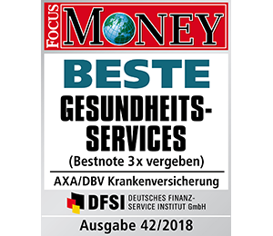 Focus Money - beste Gesundheitsservices