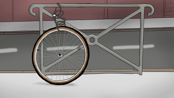fahrrad gegen diebstahl sichern alltags tipps axa. Black Bedroom Furniture Sets. Home Design Ideas
