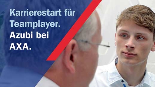 Video Karrierestart für Teamplayer | AXA