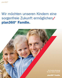 Produktflyer plan360° Familie